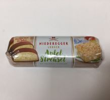 Niederegger Apple Strudel Chocolate Marzipan Bar 125g